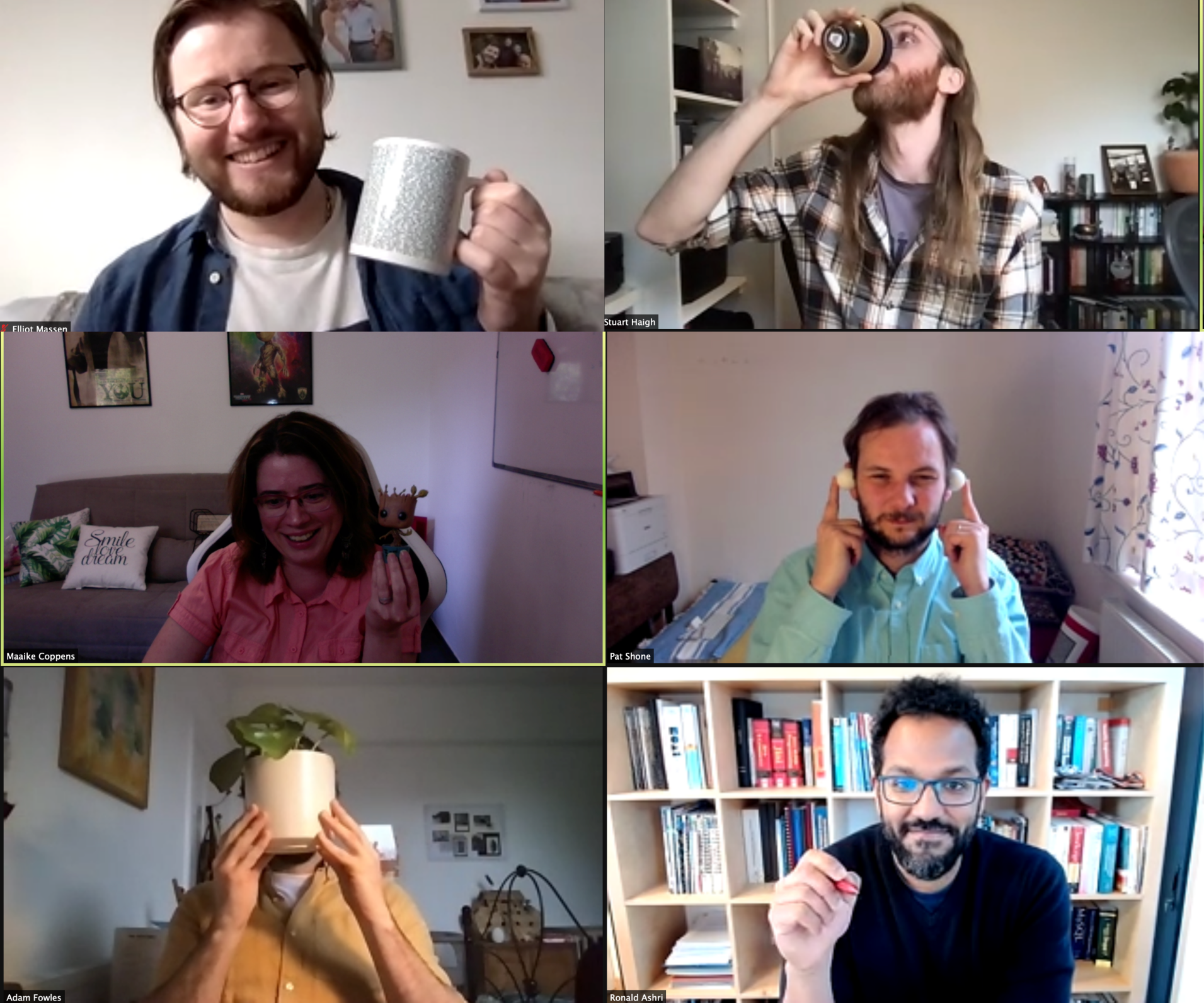 OpenDialog Team Having Fun